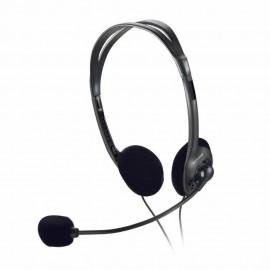 Fone Com Microfone Básico Preto P2 PH002 - Multilaser