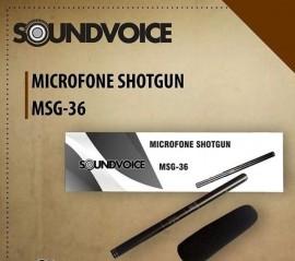 Microfone Soundvoice Msg36 Shotgun