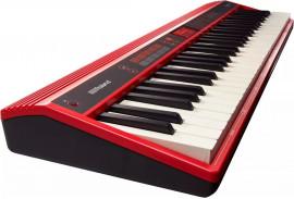 Teclado Roland GO-61K Keys - Bluetooth, com Fonte Bivolt e Teclas Sensitivas