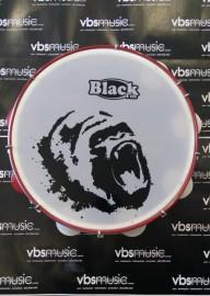 Pandeiro Profissional Black Tin 12'' Gorila