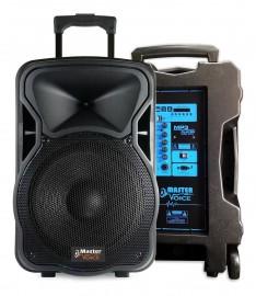 Caixa Ativa Mv315 Master Voice Bluetooth Usb Bateria