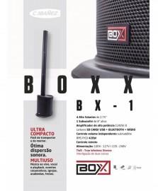 Caixa Acustica Ativa Sistema Coluna Box Bx1