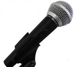 Microfone Vocal Cardióide SM-50 VK - Leson