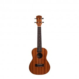 Ukulele Acústico Malibu 23S Concert Sapele Natural +  capa