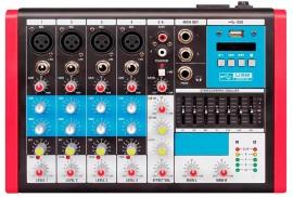 Mesa Analógica 6 Canais Soundvoice MC6 EUX