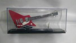 Miniatura De Guitarra Explorer Vermelho