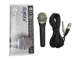 Microfone Com Fio Dinâmico LS-7 - Leson