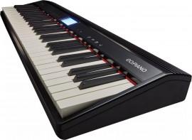 Piano Digital Roland GO-61P Keys - Bluetooth, com Fonte Bivolt e Teclas Sensitivas