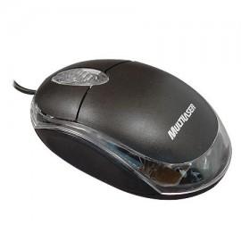 Mouse Óptico Multilaser USB Classic Preto MO007
